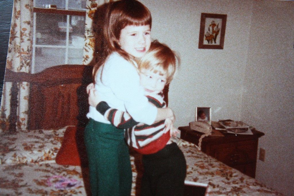 Me and Uncle Brian, circa 1983