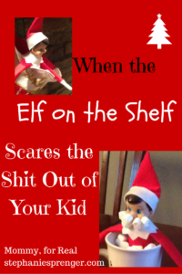 The Elf on the Shelf and the Anxious Child- A 12-Step Program