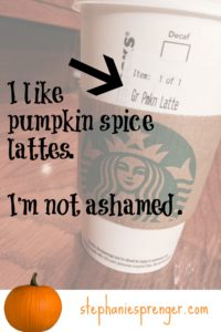 Finding the Pumpkin Spice Line: Making Peace with My Inner Hypocrite