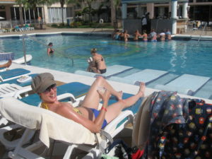 A Day at the Pool: Then & Now