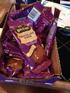 The Harry Potter treats are a bit pricey but make nice favors.
