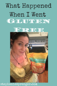 What Happened When I Went Gluten Free