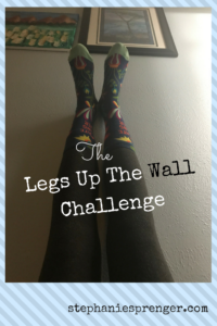 The Legs Up The Wall Challenge