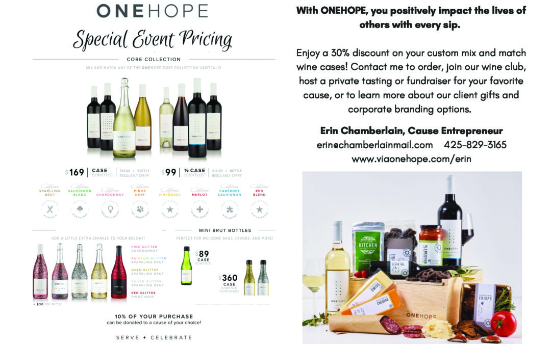 ONEHOPE Wine + A Precious Child